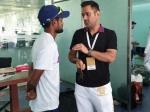 ഇന്ത്യ vs ദക്ഷിണാഫ്രിക്ക: മൂന്നാം ടെസ്റ്റും 'റാഞ്ചി', പിന്നാലെ സാക്ഷാല് ധോണിയെത്തി, ചിത്രം വൈറല്