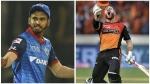 IPL 2020: ഡല്ഹി X ഹൈദരാബാദ്- അറിഞ്ഞിരിക്കേണ്ട കളിക്കണക്കുകള്