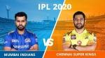 IPL 2020: മുംബൈ x സിഎസ്കെ- ടോസ് ധോണിക്ക്, മുംബൈയെ ബാറ്റിങിന് അയച്ചു