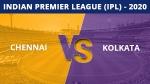 IPL 2020: ചെന്നൈ x കൊല്ക്കത്ത- ധോണിക്ക് ടോസ്, ബൗളിങ് തിരഞ്ഞെടുത്തു