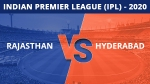 IPL 2020: ഡു ഓര് ഡൈ, രാജസ്ഥാനും ഹൈദരാബാദിനും ജയിക്കണം
