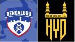 ISL 2020-21: ബംഗളൂരു എഫ്സി x ഹൈദരാബാദ് എഫ്സി- അറിയേണ്ടതെല്ലാം