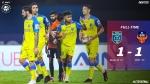 ISL 2020-21: ഗോവയെ സമനിലയില് തളച്ച് ബ്ലാസ്റ്റേഴ്സ്; ഏഴാം സ്ഥാനത്ത് കയറി
