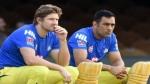 IPL 2021:നിങ്ങളാണ് സിഎസ്കെയുടെ ഹൃദയമിടിപ്പ്, മികച്ച ക്യാപ്റ്റന്, ധോണിക്ക് ആശംസയുമായി വാട്സണ്