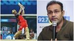 IPL 2021: ഐപിഎല് ലോഗോ രൂപകല്പ്പന ചെയ്തത് ഡിവില്ലിയേഴ്സിന്റെ ഷോട്ട് കണ്ടിട്ട്- സെവാഗ്