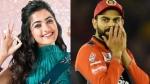 IPL: ഇഷ്ട ടീം ആര്സിബി, പക്ഷെ കോലിയുടെ ഫാനല്ല!- തന്റെ ഹീറോ മറ്റൊരാളെന്ന് രശ്മിക മന്ദന