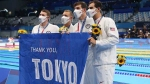 Olympics 2021: ലോക റെക്കോര്ഡിലേക്കു നീന്തിക്കയറി അമേരിക്ക, നേട്ടം 4-100 മെഡ്ലേ റിലേയില്