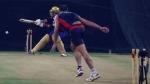 IPL 2021: മാക്സ്വെല് ക്ലീന് ബൗള്ഡ്! ആര്സിബിയുടെ സൂപ്പര് ഓവര് ട്രയല് ടൈയില് കലാശിച്ചു