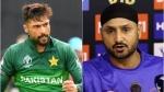 T20 World Cup 2021: 'പൊരിഞ്ഞ അടി', കോഴക്കാരനെന്ന് ഹര്ഭജന്, തിരിച്ചടിച്ച് അമീര്, ട്വിറ്ററില് വാക് പോരാട്ടം
