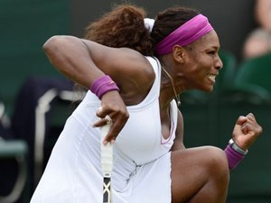 Sports Wimbledon 2012 Serena Williams Petra Kvitova Ferer