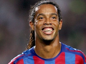 Sports Ronaldinho Brazil Captain Against Chile