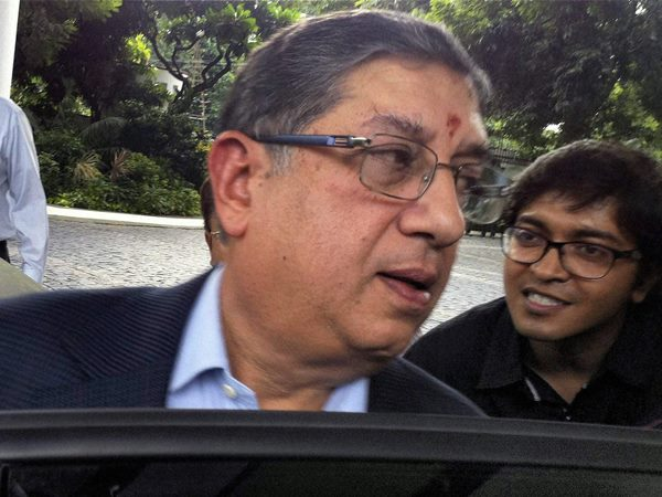 Supreme Court Says N Srinivasan Can Contest Bcci Elections