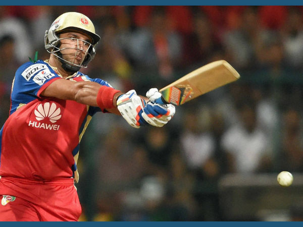 Yuvraj Singhs Sparkle Breaks Rcb Losing Streak