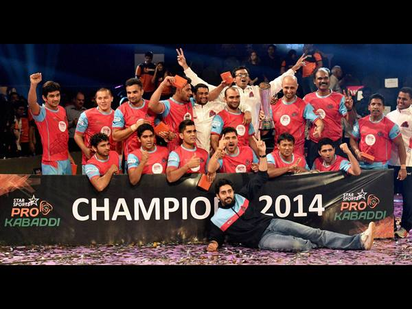 Jaipur Lifted The Star Sports Pro Kabaddi Cup