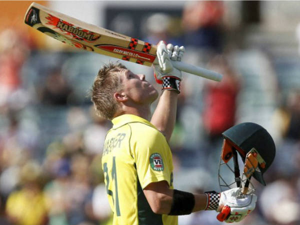 Cricket World Cup David Warner Six Hits Young Boy