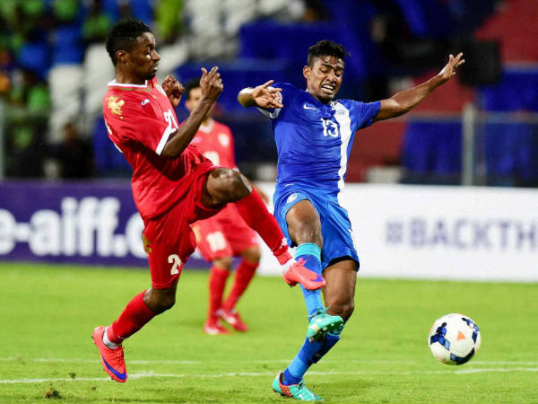 World Cup 2018 Qualifier India Lose Oman 1 2 Bengaluru