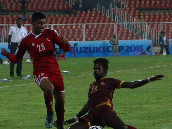 Saff Cup 2015 Srilanka Wins Against Nepal