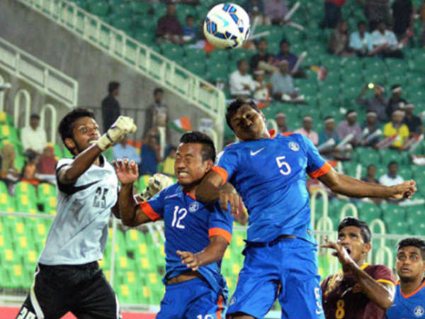 Saff Cup India Register 2 0 Win Over Sri Lanka After Robin Singhs Double