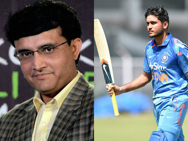 Sourav Ganguly Says Manish Pandey Shouldn T Be Sad About World T20 Snub