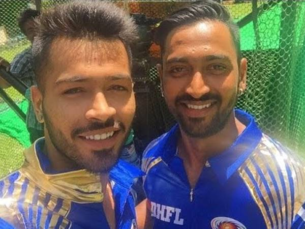 Hardik And Krunal First Brother Pair To Part Of Same Ipl Team