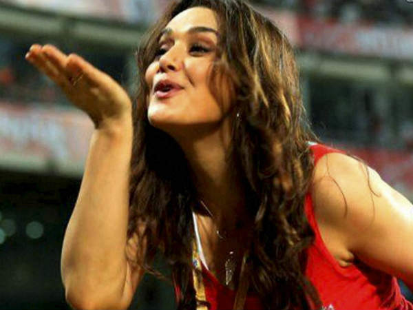 Preity Zinta Threatens Abuses Coach Sajay Bangar After Kxip Lost 1 Run