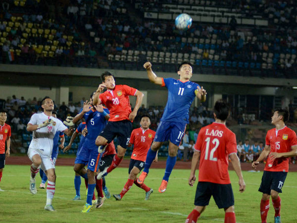 India Demolish Laos To Asian Cup Qualifier