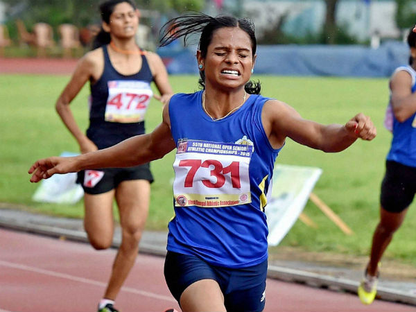 Dutee Chand Qualifies For Rio 2016 Olympics In Womens 100m