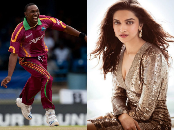 Dwayne Bravo Says I Am Fan Deepika Padukone
