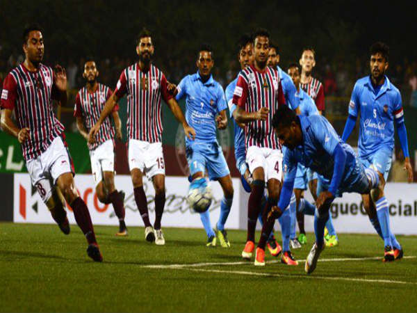 Mohan Bagan And Isawl Fc Win In I League