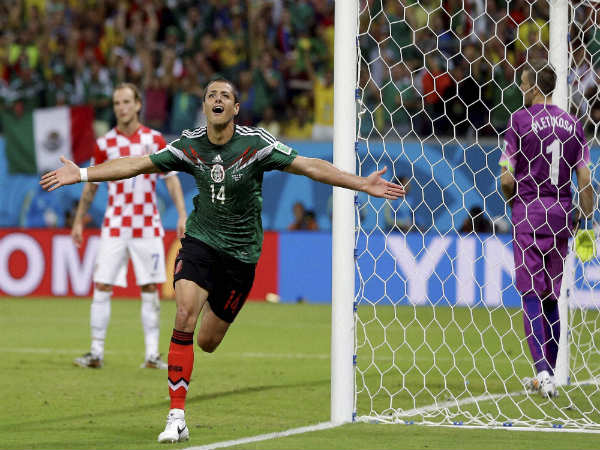 Javier Hernandez Tied Mexicos All Time Record Goals Scored Against Costa Rica