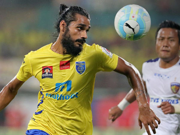 Isl Sandesh Jhingan Will Play For Kerala Blasters