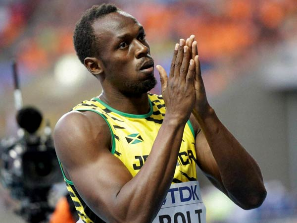 World Championship Jstin Gatlin Champion In100m Usain Bolt