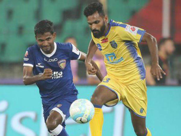 Vineeth About Kerala S Goal And Penalty Against Chennai