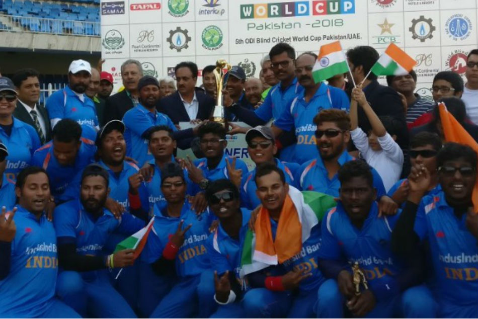 Blind Cricket World Cup India Beat Pakistan To Lift 2nd Title