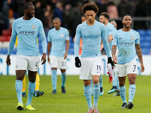 Manchester City Draws With Crystal Palace In Epl