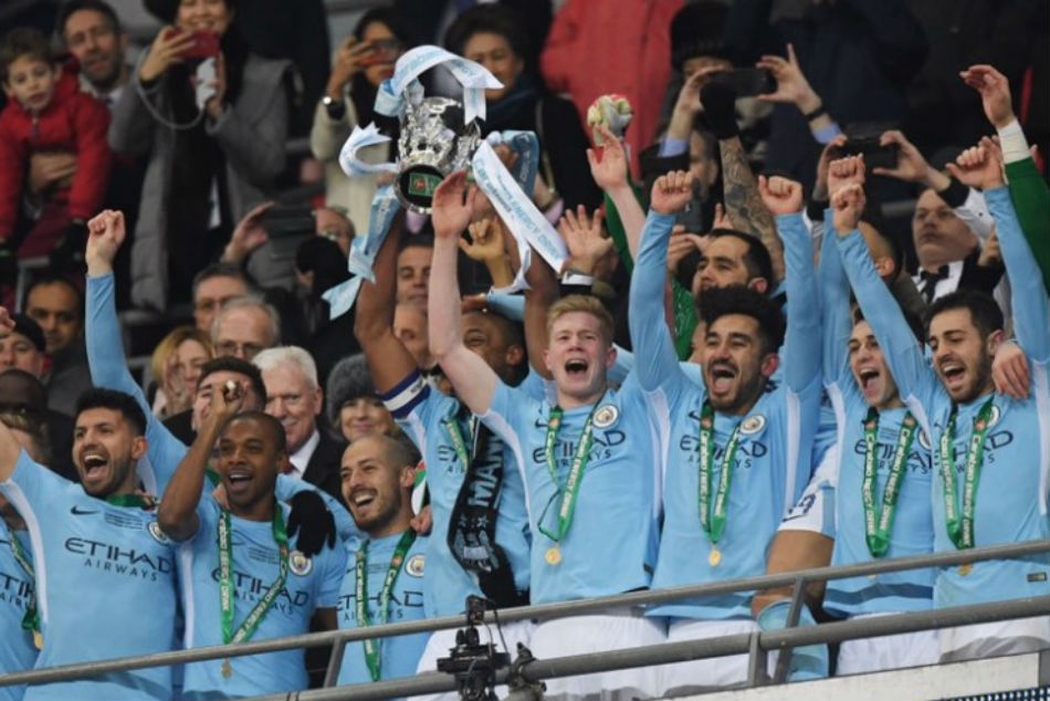 Guardiola Secured His First Trophy As Manchester City Coach