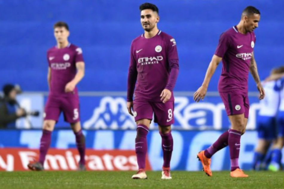 Manchester City Stunned By Wigan In Fa Cup Match
