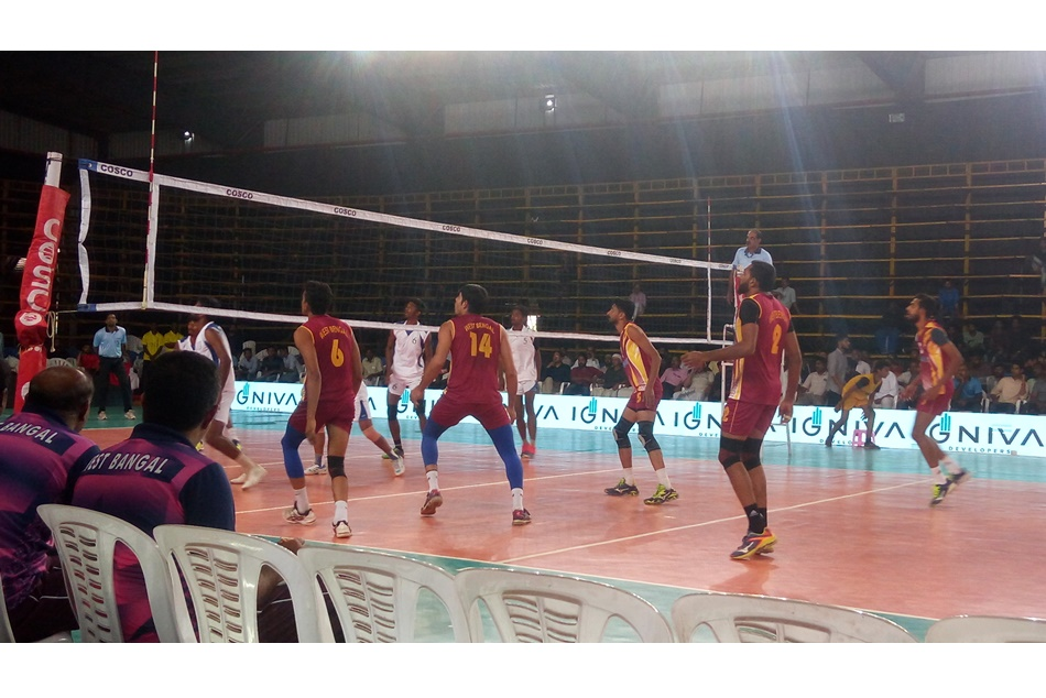 National Volleyball Women S Team In Finals And Men S In Semi Finals