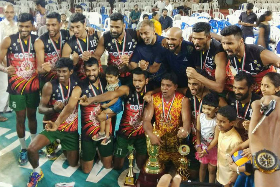 Kerala Men S Team Won National Volleyball Championship