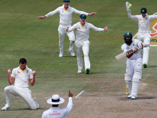 South Africa Australia First Test 4th Day