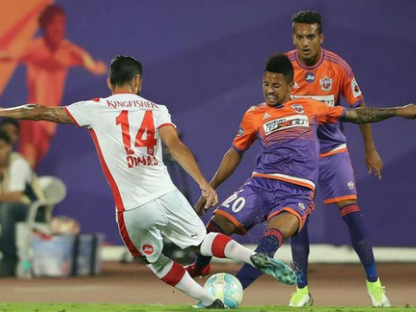 Bengaluru Pune City First Leg Semi Final In Isl