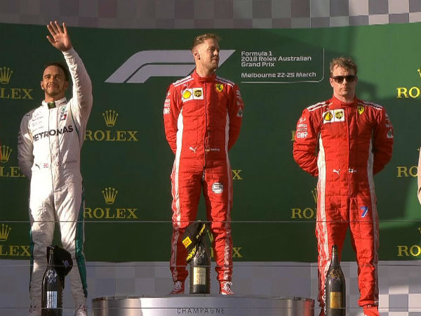 Vettel Wins F1 Season S First Grand Prix In Australia