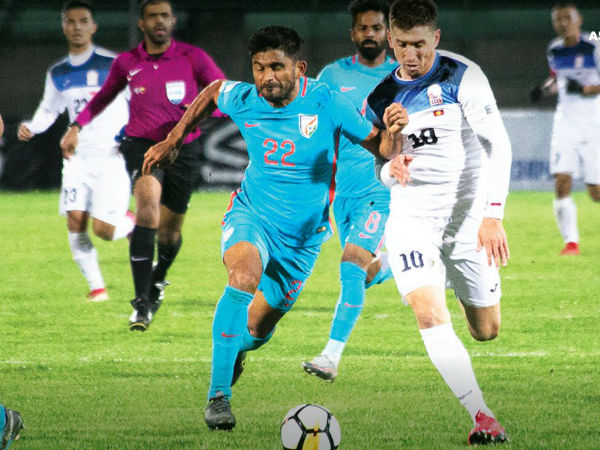 India Beaten By Kyrgystan In Afc Cup Qualifying Match