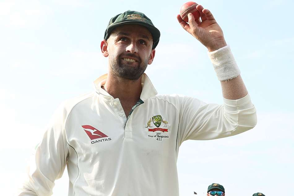 Nathan Lyon Charged For Sending Off