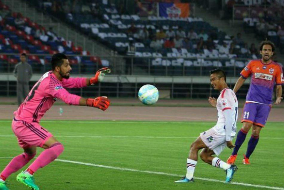 Pune City Delhi Dynamos Isl Match Ends In Draw