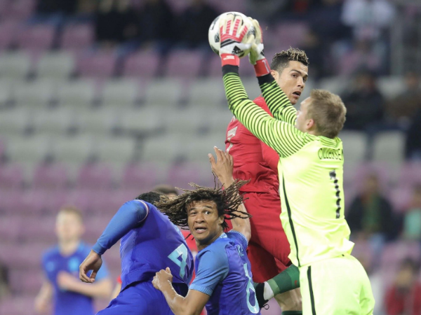 Holland Beats Portugal In Friendly Football Match