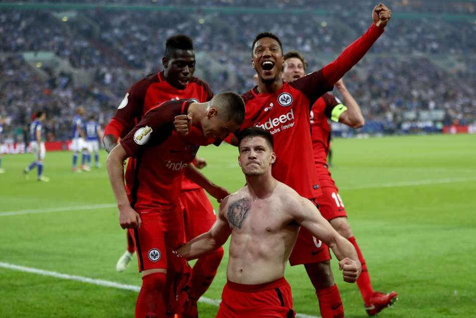 Frankfurt Edges Schalke Sets Up German Cup Final