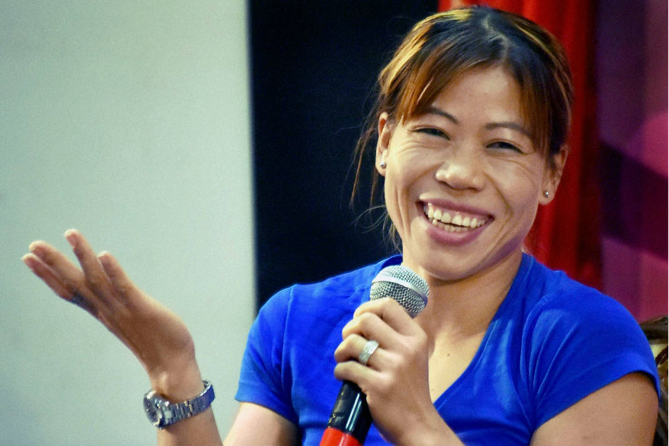 Mary Kom Credits Obsessive Training