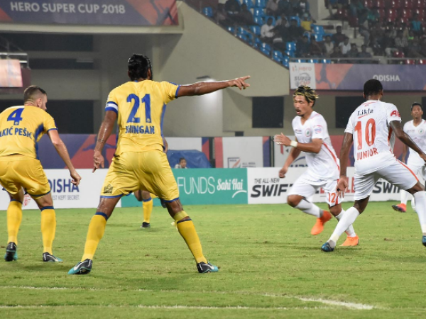 Neroca Beats Kerala Blasters In Indian Super Cup