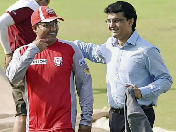 Sehwag Informed Ganguly About Former Coach Chappells Mail To Bcci